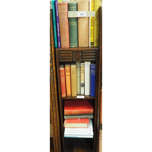 562 - 3 shelves of Sabine Baring-Gould books (20 books total)...