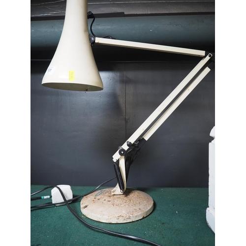 638 - Cream Anglepoise lamp...