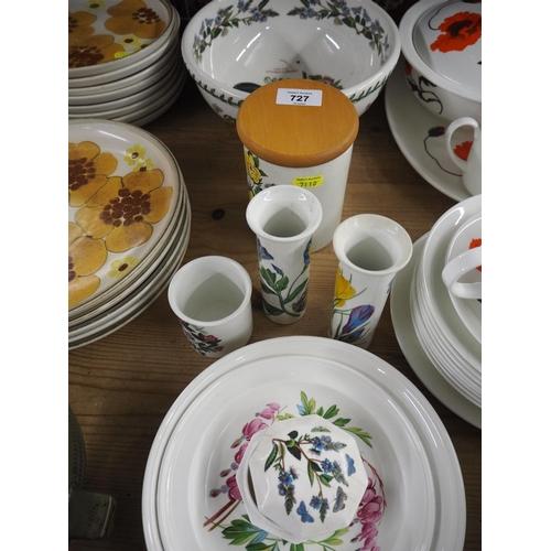 727 - various Port Meirion botanic gardens pattern ceramics etc....
