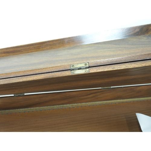 62 - Arnold Dolmetsch Spinet Replica in walnut case....