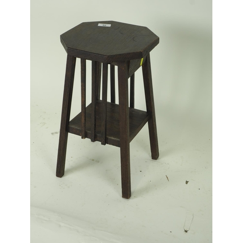 80 - Arts and crafts low side table. height 45  CM....