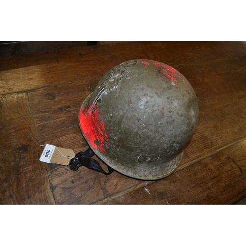 106 - American military helmet...