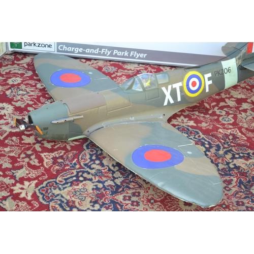 52 - Spitfire MK 2B RC plane no controller or battery so af