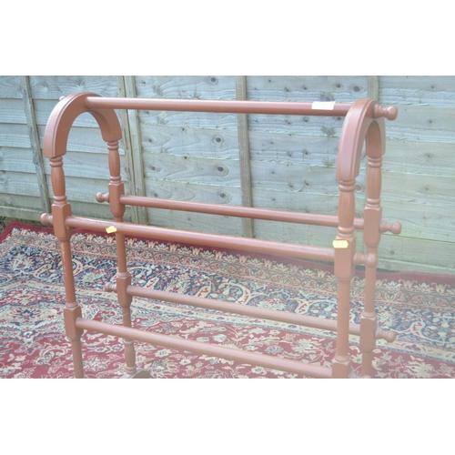 54 - Painted towel rail