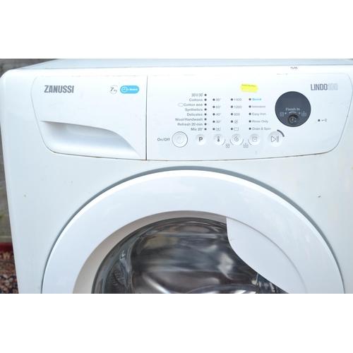 58 - Zanussi washing machine Lindo100 ZWF71463W A+++ 7Kg washing