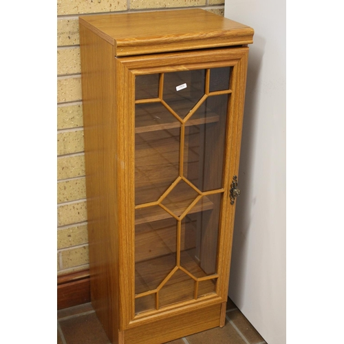 24 - SMALL GLAZED DISPLAY CABINET...