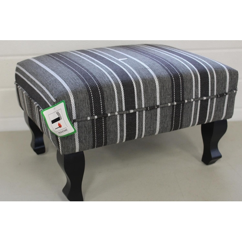 53 - SMALL STRIPED STOOL...