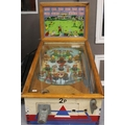 50 - EARLY ARCHER PIN BALL MACHINE not tested...