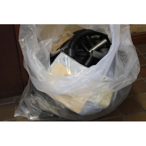 3 - LGE BAG OF VAC CLEANER ACCESSORIES...