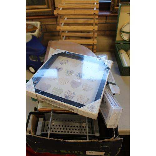 52 - BOX ASS ITEMS...