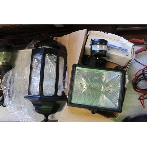 30 - 2X SECURITY LIGHTS...