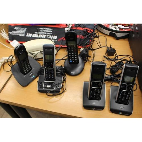10 - BOX OF ASS HOUSE PHONES...