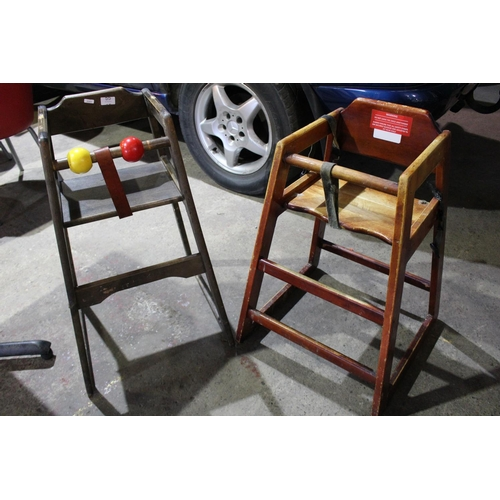 55 - CHILDS HIGH CHAIR...
