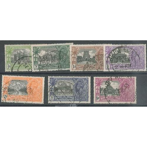 155 - India; 1935 Silver Jubilee set (7) f.u., cat.£18....