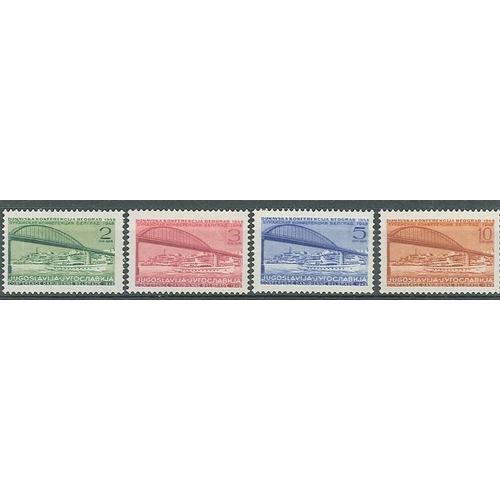 225 - Yugoslavia; 1948 Danube Conference set (4) u.m., cat.£13.50...