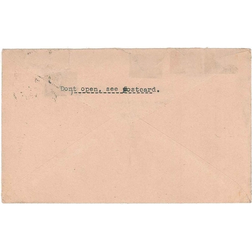 263 - Scottish Covers and Postal History; 1934 (20 Aug.) cover to Bristol, with 1½d stamp cancelled Glasgo...