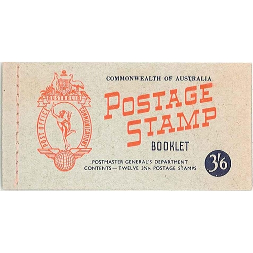77 - Australia; Booklets; 1953 3/6 booklet, complete and very fine u.m., SG SB31 cat.£11....