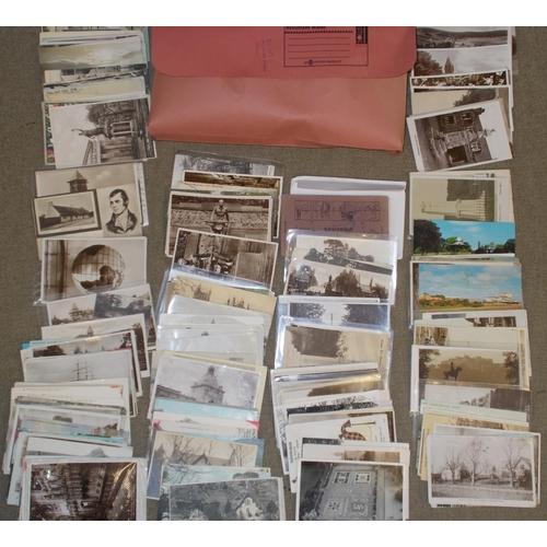 169 - Postcards; Mixed bundle, mainly Scottish inc. Northern Isles, War Memorials, N.E.Scotland, etc. (c.2...
