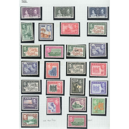 46 - Collections; Commonwealth; album with collection of countries A to G (but without Australia and Cana...