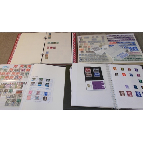 7 - Collections and Mixed Lots; Box with UK album to 1970s with Penny Black (4-margin, close top-right, ...