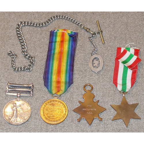 166 - Medals; Four mixed medals – Queen's South Africa Medal (3rd reverse) with Wittebergen and Cape Colon...