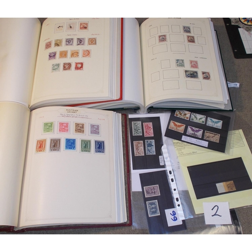 2 - Collections and Mixed Lots; world collection in three springback albums with strength in c.1890s-195...