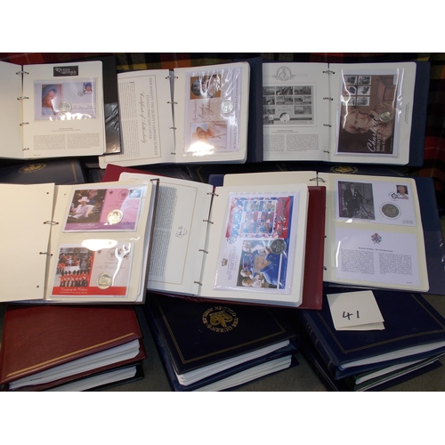 41 - Covers; Philatelic Numismatic Covers; an enormous collection in 34 albums, apparently all Westminste...