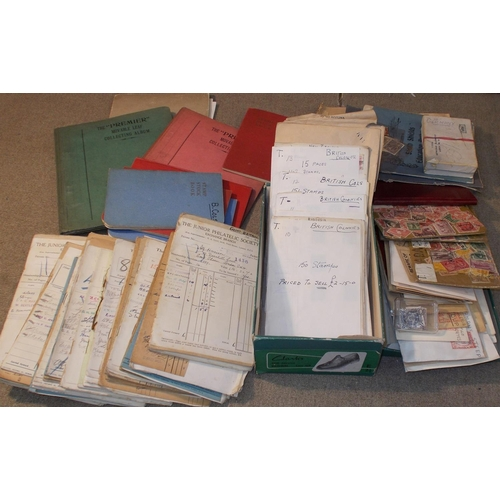 1 - Collections and Mixed Lots; fruit box with a mainly older mix (much is pre-1950s) inc. shoebox of st...