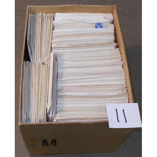 11 - Collections and Mixed Lots; box filled with remainder club/approval books of generally cheaper world...