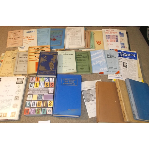 46 - Literature; two boxes of mainly smaller books and pamphlets, many 1920s-40s inc.