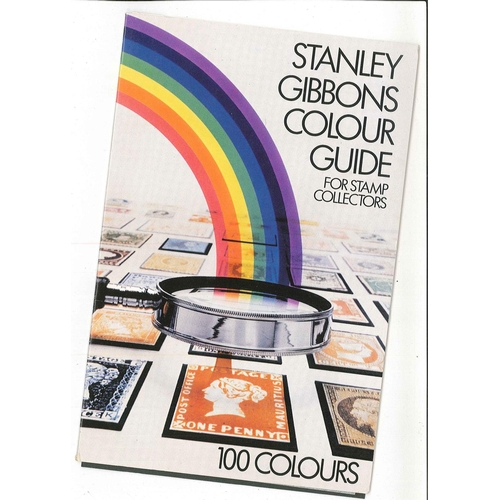 53 - Supplies; Stanley Gibbons Colour Guide (100 colours on gate-fold card), as new.