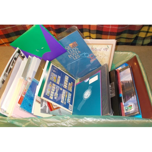5 - Mixed Lots; box filled with items distributed to delegates at UPU Congress (Beijing 1999), all non-E...