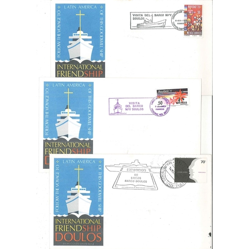 25 - Covers; 1978 group of 12 commem covers for cruise of