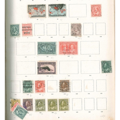 20 - Commonwealth; Imperial album with spaces up to c.1922 but some later added. Good spread of material ...