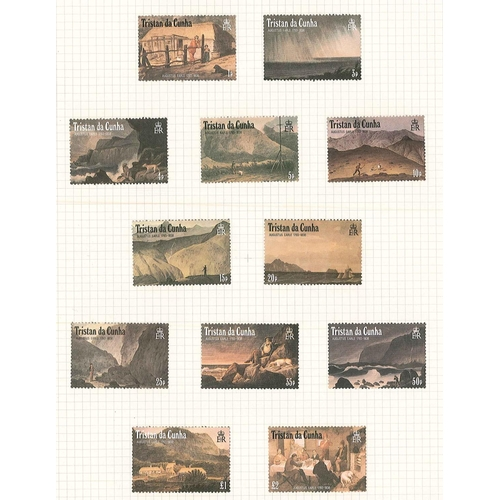 21 - Commonwealth; an album with m.m. sets from Gibraltar, St.Helena, South Georgia, and Tristan da Cunha...