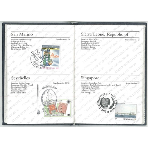 508 - Mixed Lots; Stamp World London 90