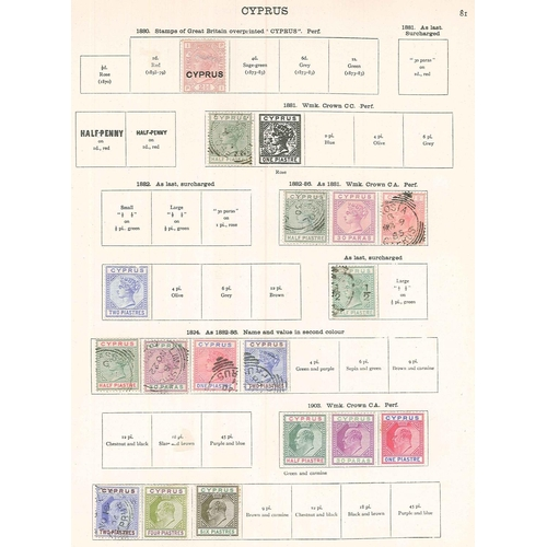 30 - British Commonwealth; New Ideal printed album (for stamps to 1936) with an initially decent-looking ...