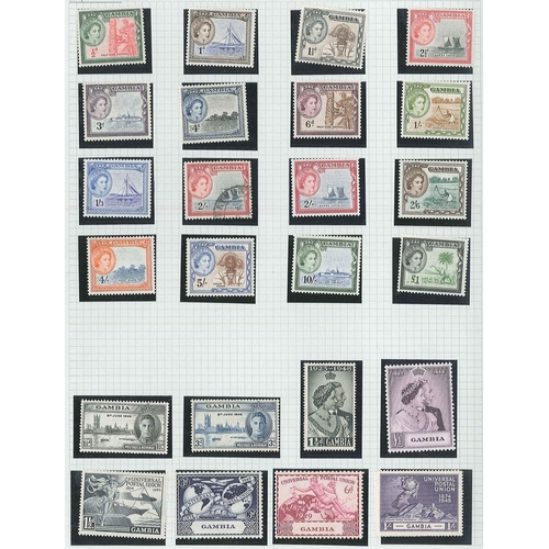 29 - Collections; Commonwealth; album with collection of countries G to L plus Malaya from King George VI...