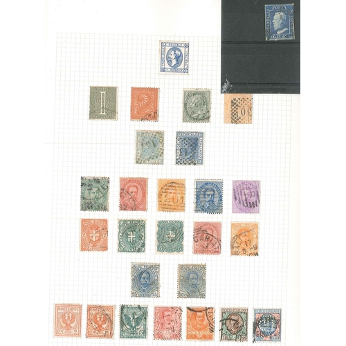 46 - Collections; Europe; an album of used Ireland (inc. some of the higher-cat. commems about 1950-60, p...
