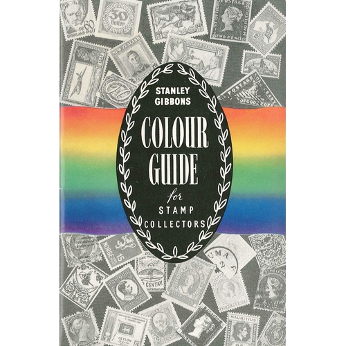 552 - Supplies; Stanley Gibbons Colour Guide (100 colours on gate-fold card), very clean 2nd-hand.