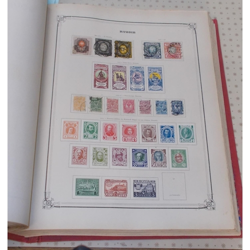 43 - Collections and Mixed Lots; Europe; big old Yvert & Tellier printed album (spaces up to c.1912, inc....