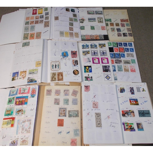 1 - Collections and Mixed Lots; box with big bundle of about 90 remainder club books - Commonwealth and ...