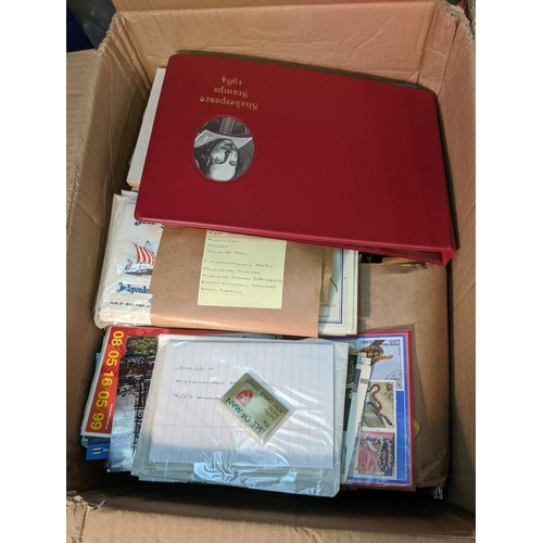 18 - Mixed Lots; carton with bundles of UK FDCs, some RAF and other modern aviation covers, some Channel ...