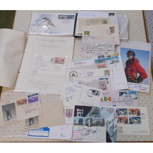 59 - Covers; Expeditions; seln. of covers/cards connected to mainly Polar and Hilmalayan exploits inc. 19...