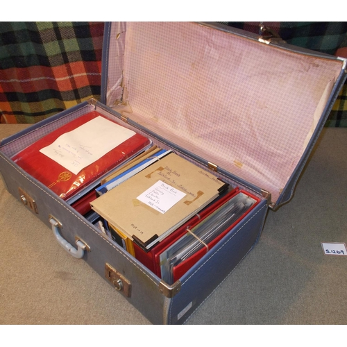 4 - Mixed Lots; mixed lot in old suitcase, mainly a collection put together in late 1960s/mid-late-1970s...
