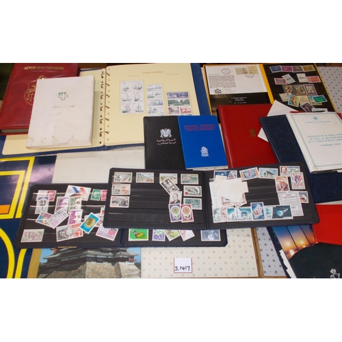 24 - Mixed Lots; carton with about 20 presentation folders or similar, mainly from UPU Congresses, with s...