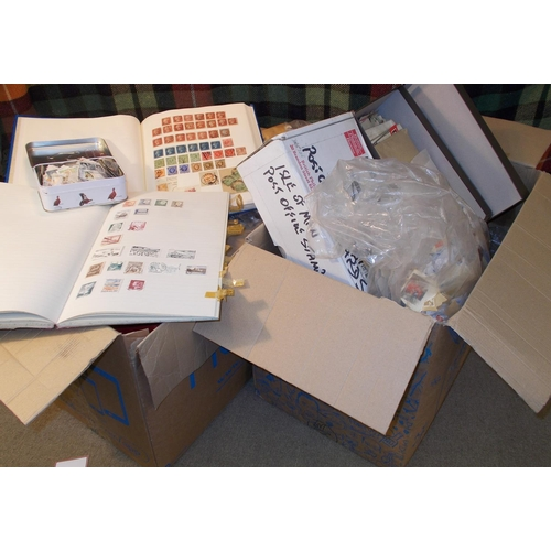 7 - Mixed Lots; two cartons, all from our shop's charity box, being odds and ends left with us by custom...