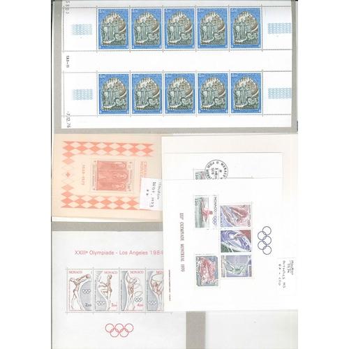 501 - Europe; Miniature Sheets; European selection of mainly u.m. m.s./sheetlets (a few m.m. or c.t.o.) of...