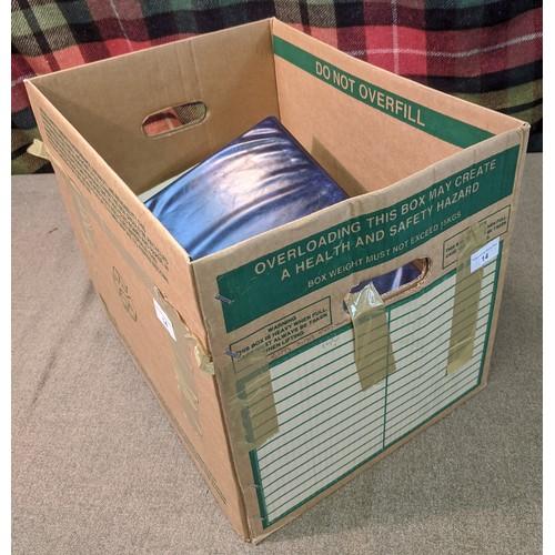 14 - Mixed Lots; very varied lot in carton inc. stockalbum of Germany, packet of Scottish Sunday School l...