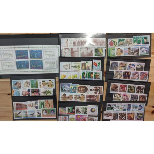 37 - Commonwealth; 2000-04 (and a few earlier) u.m. collns. of Pakistan and Bangladesh on stockcards, com...
